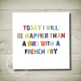 FRENCH FRY Printable Wall Art by theparchmentplace on Etsy