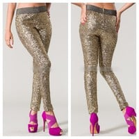 The Girl on Fire Pants