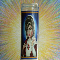 Saint Winehouse Candle by BERNDTOFFERINGS on Etsy