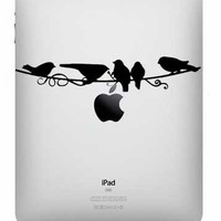 Ipad Decal - Birds On A Branch Viny.. on Luulla