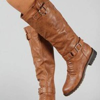 1949 Cognac Riding Boot