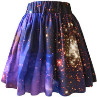 Starburst Galaxy Skirt, Organic Cotton, Galaxy Print.