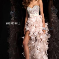 Sherri Hill Dress 21158 at Peaches Boutique