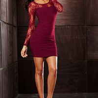 Lace sleeve dress from VENUS