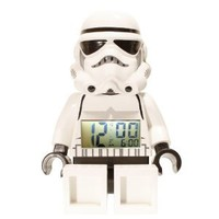 Amazon.com: LEGO Kids' 9002137 Star Wars Storm Trooper Mini-Figure Alarm Clock: Lego: Toys & Games
