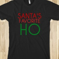 Santa Favorite Ho - Chirstmas Tshirt