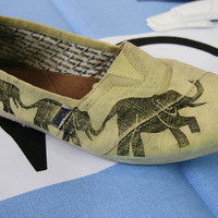 Elephant TOMS Shoes