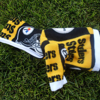Pittsburgh Steelers NFL Custom Dog Hoodie by GypsyEyesClothing