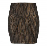 Metallic mini skirt - FAEUI - Ted Baker