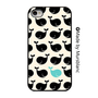 Iphone Case. Blue Whale, Under the sea, Fish, Ocean, Blue and black, cute, aquatic, gifts for her, girly