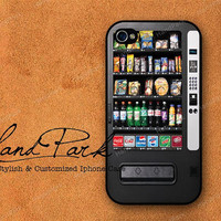 Vending Machine iPhone 4 Case, iPhone 4s Case, iPhone 4 Cover, Hard iPhone 4 Case