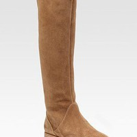 Jimmy Choo Yazz Rabbit Lined Suede Boots - $279.00