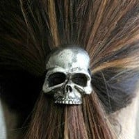 Cute Punk Skull Hair Band Women&#x27;s Hair Accessories from looback