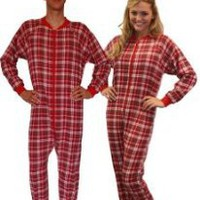 SleepytimePjs Plaid Flannel Footed Pajama