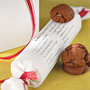 Christmas Ideas / Roll of cookies with recipe. Perfect Christmas gift.