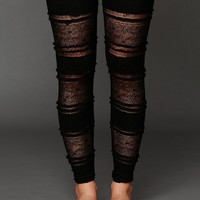 Free People Ruffle Legging
