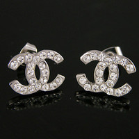 Chanel Earrings - SILVER Version