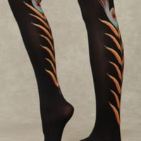 Feather Tights at Free People Clothing Boutique