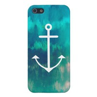 Turquoise Ombre Nautical iPhone 5 Cases from Zazzle.com
