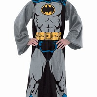 DC Comic Adult Comfy Throw with Sleeves by The Northwest Company