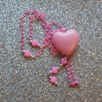 Sweet Heart Charm Necklace