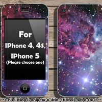 Buy 2 get 1 free - Fox Fur Nebula skin for IPhone 4, 4s and IPhone 5 (s101)