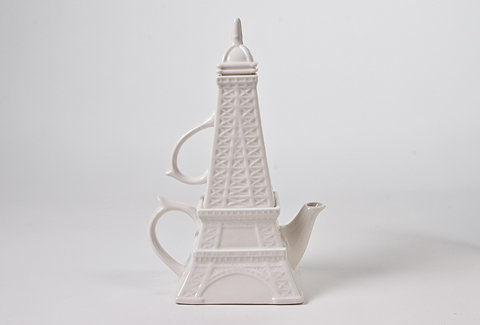 The Spoon Sisters Eiffel Tower - Tea For One