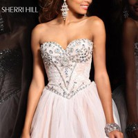 Sherri Hill Short Dress21156 at Prom Dress Shop