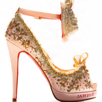 Christian Louboutin Marie Antoinette shoes 2 | Superficial Diva