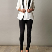 Rex leather-lapel tuxedo jacket | Elizabeth and James | Matche...
