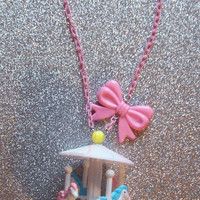 Sweet Kawaii Carousel Necklace
