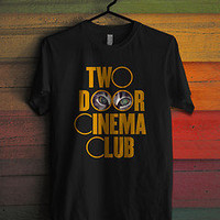 New Two Doors Cinema Club British Rock Music Tour Concert T-Shirt