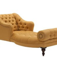 One Kings Lane - George Smith - Aspinal Chaise, Gold