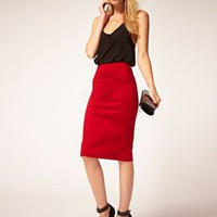 Motel | Motel Pencil Skirt High Waisted at ASOS