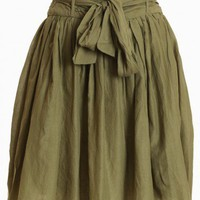 retail therapy skirt in green at ShopRuche.com, Vintage Inspired Clothing, Affordable Clothes, Eco friendly Fashion