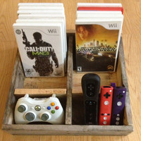 Video Game Organizer for wii or X-box
