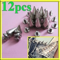 12x Cone Metal Screwback...