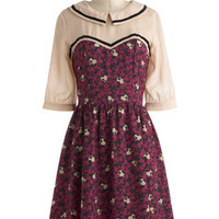 Room With a Mew Dress | Mod Retro Vintage Dresses | ModCloth.com
