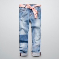 JEANS WITH SASH BELT - Jeans - Girl (2-14 years) - Kids - ZARA United States