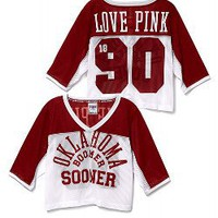 University of Oklahoma Shrunken Jersey - Victorias Secret PINK - Victoria's Secret