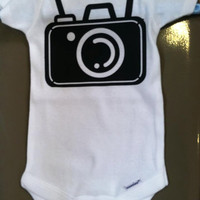 Camera Baby Onesuit size 3-6 Months