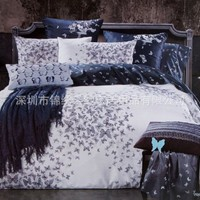 Wonderful! Warm cotton bedding suit-dancing butterfly BD0020 from House Beauty
