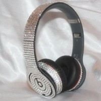 Bling Swarovski Crystal Microphone - BLING MICROPHONE / BLING BEATS BY DRE / CUSTOM BLING - Devas Bling Online Store
