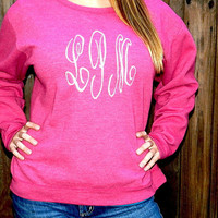 Monogrammed/Appliqued Sweat Shirt
