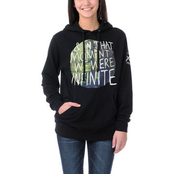Glamour Kills In The Moment Black Pullover Hoodie