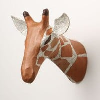 Savannah Story Bust, Giraffe - Anthropologie.com