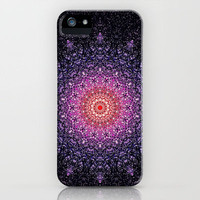 VANILLA  STARDUST MANDALA iPhone Case by M✿nika  Strigel *** for iPhone 5 + 4S + 4 + 3GS + 3G + laptop + skin +ipad mini +pillow + more ...!