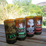 $36 Recycled Stone Brewery Beer Bottles Mixed Set of by bottlehood