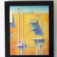Original Oil Painting 24x30 Framed First Street by brandycattoor