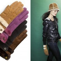 UGG Australia 'Classic' Genuine Shearling Gloves